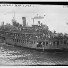 OLD VINTAGE, ANTIQUE PASSENGER SHIP: S.S. OLYMPIC   =