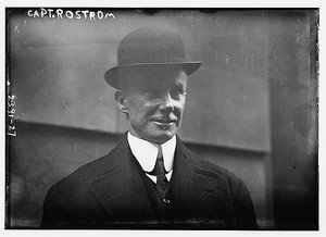 New Studio Quality Antique RP Ship Photo:CAPTAIN ARTHUR ROSTRON OF CARPATHIA