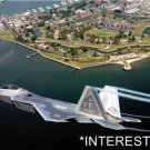 *NEW* U.S. Air Force Large 8.5x11 Photo:Fort Monroe--F-22A Raptor Langley AFB VA