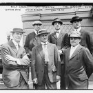 OLD VINTAGE Antique RP Photo: Harry Houdini, Billy Gibson, Leonard Hicks, Ritchi
