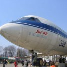 Photo Reprint:Aircraft: All Russian Exhibition Center, YAK-42 Airliner, Plane