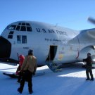 Photo Reprint:Aircraft: SOUTH POLE, US AIR FORCE, USAF, City of Amsterdam, C-130