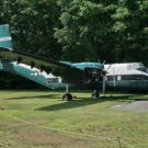 Photo Reprint:AIRPLANE, DEHAVILLAND C-7A Caribou, parked, Old vintage aircraft