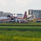 Photo Reprint:AIRPLANE, BOEING 747 Accident, 2 Pieces, Fuselage on Runway Where?