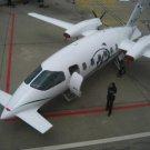 Photo Reprint:Size Choice:Airplane: Plane, PIAGGIO P-180, Futuristic Plane