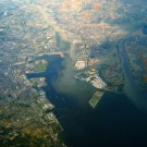 Photo Reprint:Size Choice:Airplane: KINUURA port, Aerial View, from Plane