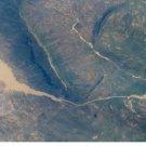 Large Photo Reprint:(8.5x11) SATELLITE, rijeka, GONGOLA, river, NIGERIA, Aerial