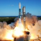 Large Photo Reprint:(8.5x11) SATELLITE, rocket, MITEX LAUNCH, liftoff, WOW, NICE