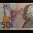 World/ Foreign Bill Banknote:  BANK OF SLOVENIA, 50 , EQUATION SOLAR SYSTEM 1992