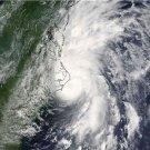 Large Photo Reprint:(8.5x11) SATELLITE, cyclone, ALEX, landfall, STORM, ocean