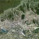 Large Photo Reprint:(11x17) Satellite Photo of Zagreb, Croatia 2009, Landsat,