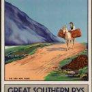 "Large Photo:(11x17)Vintage Travel Poster Reprint:""Connemara Ireland, S. Railways"