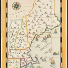 """Large Photo:(11x17)Vintage Travel Poster Reprint:""""New England Steamship Company"""""""