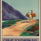 Large Photo:(11x17)Vintage Travel Poster Reprint: Connemara Great Southern Rail