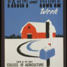 Large Photo:(8.5x11) Vintage WPA Poster Reprint: University of Illinois, Urbana