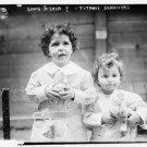 Reproduction Photograph:Favorites:8.5x11- Louis and Lola Titanic Survivors 1912