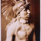 """Reproduction Photograph:Favorites:Native American """"Shows as He Goes"""" Headdress"""