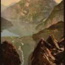 Reproduction Photograph:Favorites:Merok, Geiranger Fjord, Norway, Scenic View