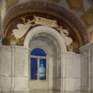 Reproduction Photograph:Library of Congress: Great Hall, U.S. Capital Sunrise