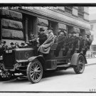 Antique Reproduction Photograph: Becker Jury going to Luncheon, Auto Bus?