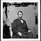 Antique President Abraham Lincoln Reproduction Photo: U.S. President, Facing R