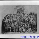 *NEW* Antique Cows Photograph: Dodge City Cow-Boy Band with Instruments