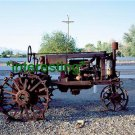 "*NEW"" NEAR ROAD IN AMERICAN WEST 1980s (8.5X11) ANTIQUE TRACTOR PHOTOGRAPH"