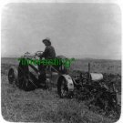 "*NEW"" PLOWING IN ""THE EMEK"" IN 1925 (8.5X11) OLD LARGE ANTIQUE TRACTOR PHOTO"