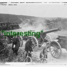 """*NEW"""" FRENCH SOLDIERS-PULLING GUN 1914 (8.5X11) OLD LARGE ANTIQUE TRACTOR PHOTO"""