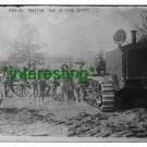 "*NEW"" MARINE TRACTOR 3'' 1907 GUNS (8.5X11) OLD LARGE VINTAGE TRACTOR PHOTO"
