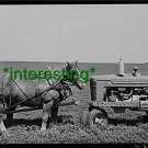 """*NEW"""" HORSE & TRACTOR JASPER,IOWA 1940 (8X10) OLD LARGE ANTIQUE TRACTOR PHOTO"""