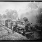 *NEW* Antique Locomotive Photo: 13x19: Florida, Steam, Dog, Engineer, Jupiter RR