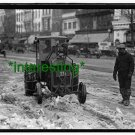 """*NEW"""" FORD C. TRACTORS IN 1924 CITY==(8X10) OLD LARGE ANTIQUE TRACTOR PHOTO"""