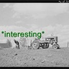 *NEW* TWO-ROW PLANTING JASPER,IOWA 1940=(8.5X11) OLD LARGE ANTIQUE TRACTOR PHOTO