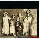 *NEW* Antique Reprint Photo: Capps Family at Columbia Vaudeville, Stage Workers