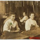 New Studio Quality Antique Photo: Cigar Markers, Child Labor, Tampa, Florida