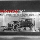 DUESENBERG STRAIGHT EIGHT SHOWROOM IN 1925 :ANTIQUE AUTOMOBILE PHOTO (11x17)