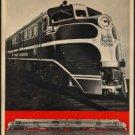 "Large Photo:(5x7)Vintage Travel Poster Reprint:""Diesel Power- New Haven RR"""