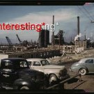 1942 NEW STEEL MILL-COLUMBIA STEEL CO. GENEVA,UTAH=(13x19) ANTIQUE CAR RP PHOTO