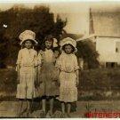 New Studio Quality Antique RP Photo: Girl Workers, Belton S.C. Mills Cornelia