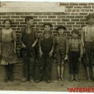 New Studio Quality Antique RP Photo: Child Workers, Clayton, NC Cotton Mills