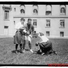 New Studio Quality Antique RP Photo: Unknown 1920s Girls Learning to Box Boxing