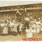 New Studio Quality Antique RP Photo: Girls, workers, American Tobacco Co DE