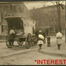 New Studio Quality Antique RP Photo: Girls working on Ice Wagon, New York