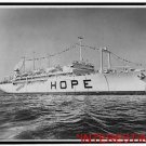 "New Studio Quality Antique RP Ship Photo: Project Hope's Ship ""S.S. Hope"" Sail"