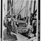 New Studio Quality Antique RP Ship Photo:New River, NC Jeep unloading Army