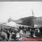 New Studio Quality Antique RP Ship Photo: WHITE STAR OFFICE, AFTER TITANIC CRASH