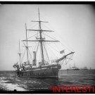 New Studio Quality Antique RP Ship Photo: British H.M.S. Partridge, 3 Mast Ship