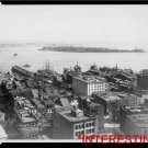 New Studio Quality Antique RP Ship Photo: Governers Island and the Narrows Bay