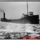 New [8x10] Antique RP Ship Photo: Freighter Horace S. Wilkinson- Icebreaker